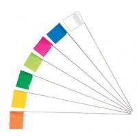 survey stake flags