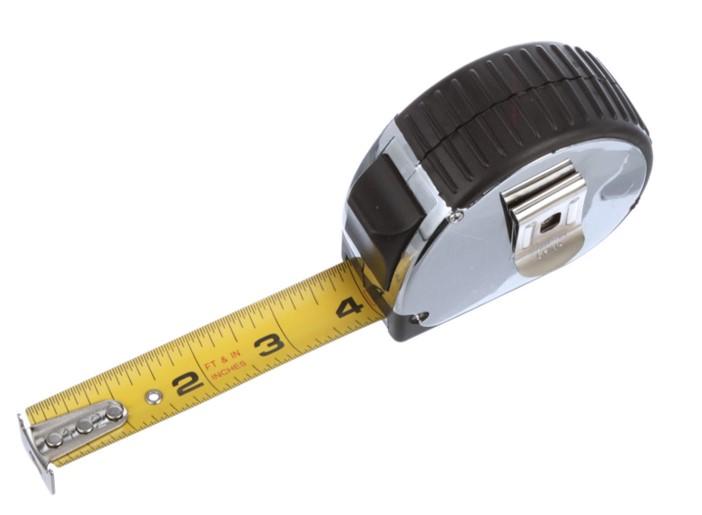 tape measure marks
